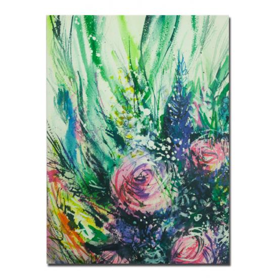 SPRING 80x110 cm Canvas Tablo