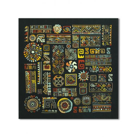 INCA 90x90 cm Canvas Tablo